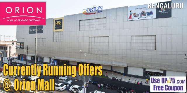 Orion Brigade Gateway Mall - Bangalore Sale Offers India