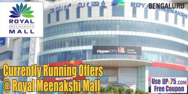 Royal Meenakshi Mall - Bangalore  Sale Offers India
