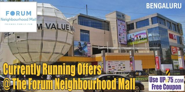 The Forum Value Mall - Bangalore Sale Offers India