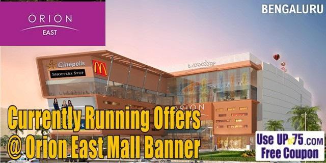 Orion East Mall Benglauru Sale Offers India