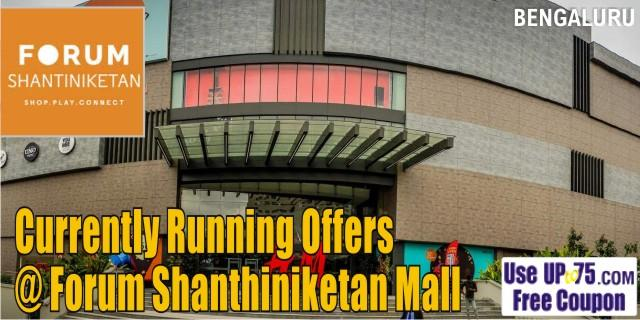 Forum Shantiniketan Mall Bangalore Sale Offers India