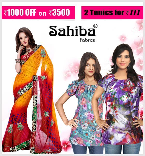 Sahiba Fabrics offers India