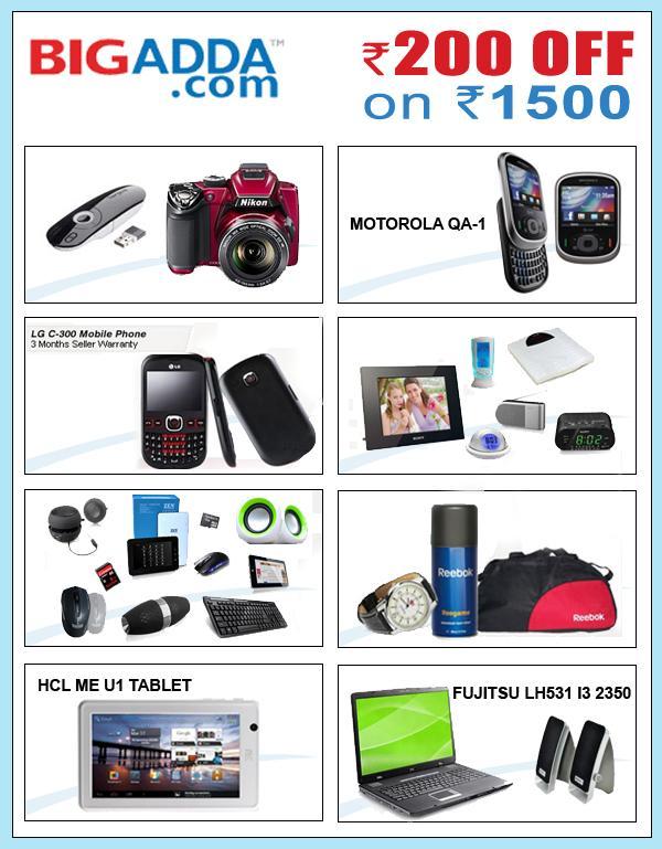 Bigadda offers India