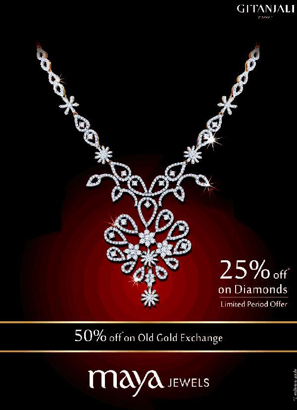 Maya Jewels offers India
