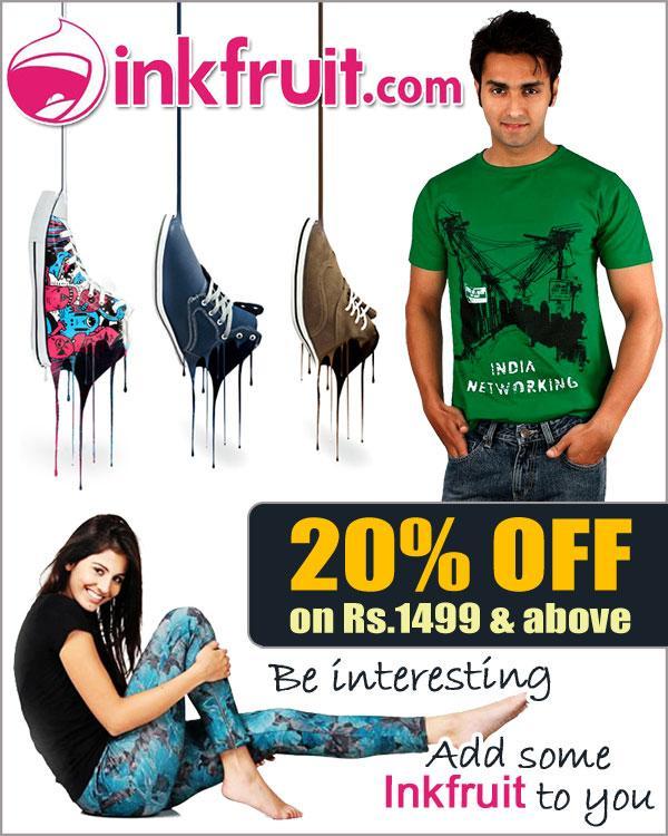 inkfruit.com offers India
