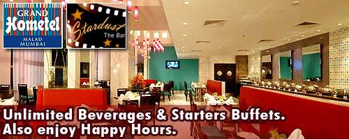 Grand Hometel - Stardust Bar and Lounge offers India