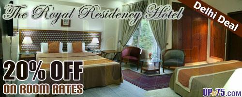 The Royal Residency Hotel offers India