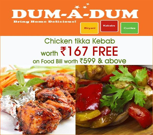 Dum-A-Dum-Biryani and Kebabs offers India