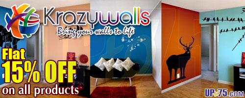 Krazywalls offers India