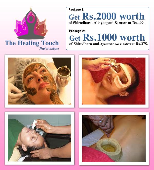 Healing Touch offers India