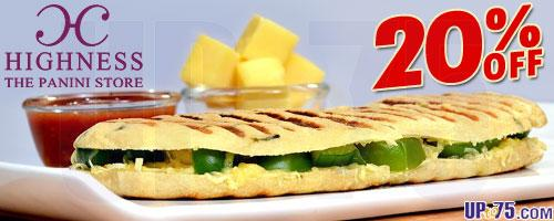 Highness The Panini Store offers India