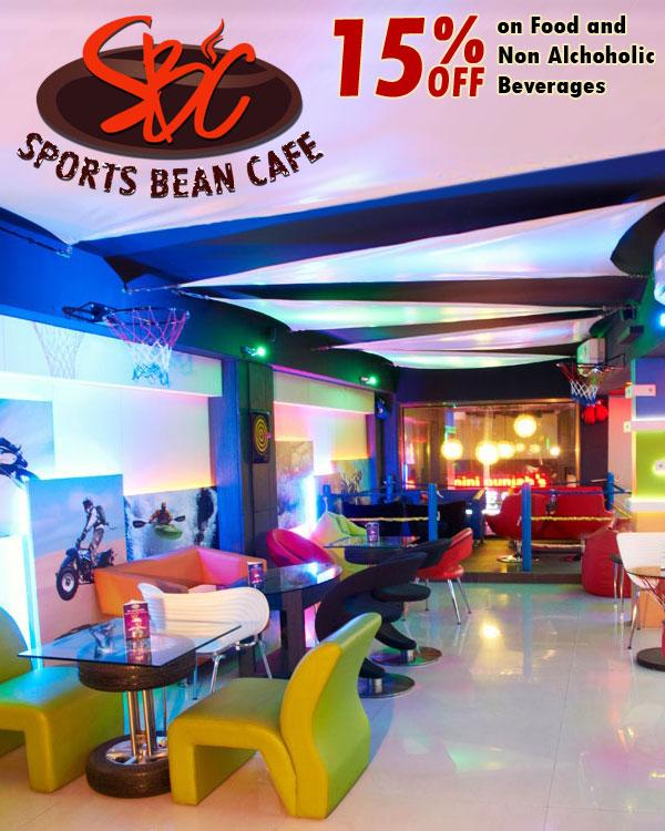 Sports Bean Cafe offers India