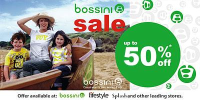 Bossini offers India