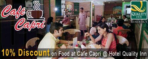 Cafe Capri - The Coffe Shop offers India