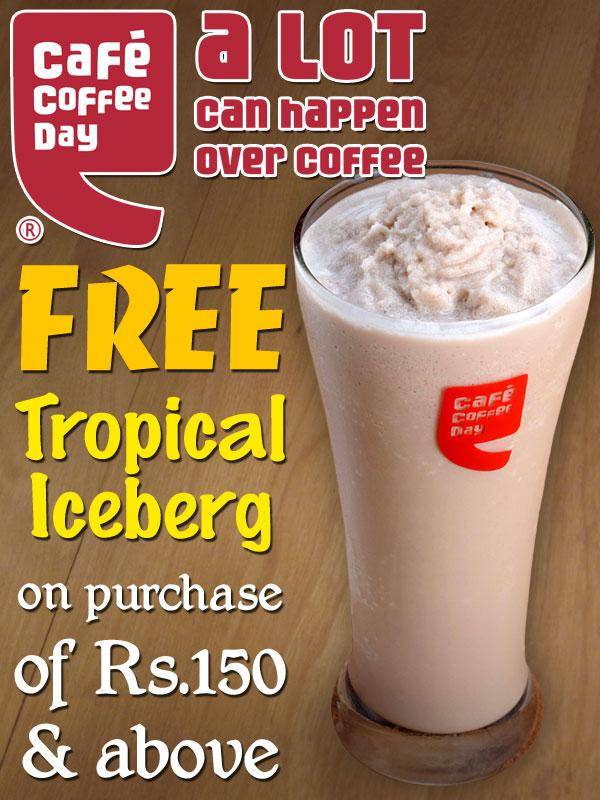 Cafe Coffee Day offers India