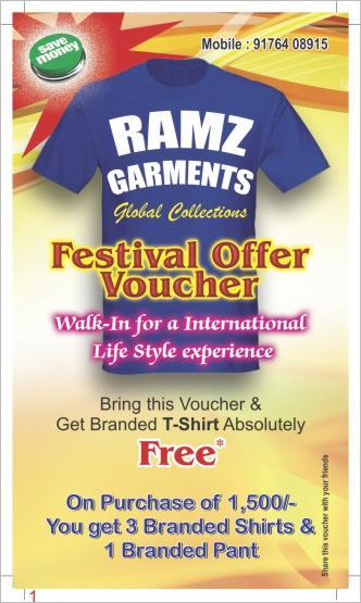 Ramz Garments offers India
