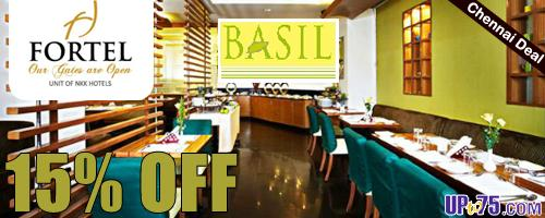Basil at Fortel Hotel offers India