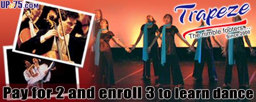 Trapeze Academy Of Dance & Music offers India