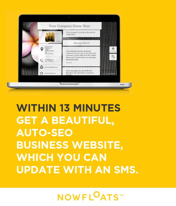 NowFloats offers India