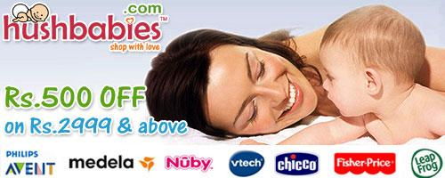 Hushbabies offers India