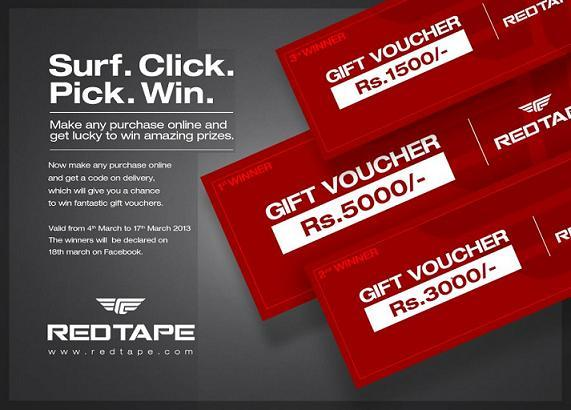 Redtape offers India