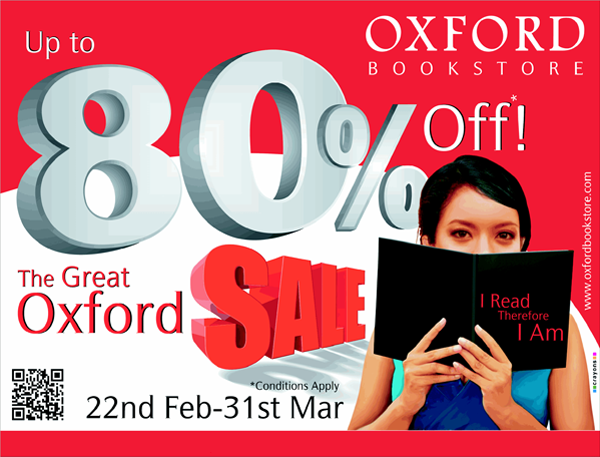 Oxford Bookstores offers India