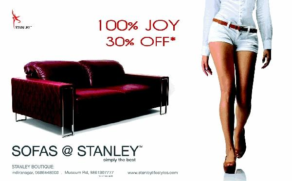 Sofas@Stanley offers India