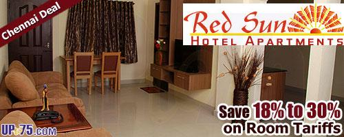Red Sun Hotel Apartments offers India